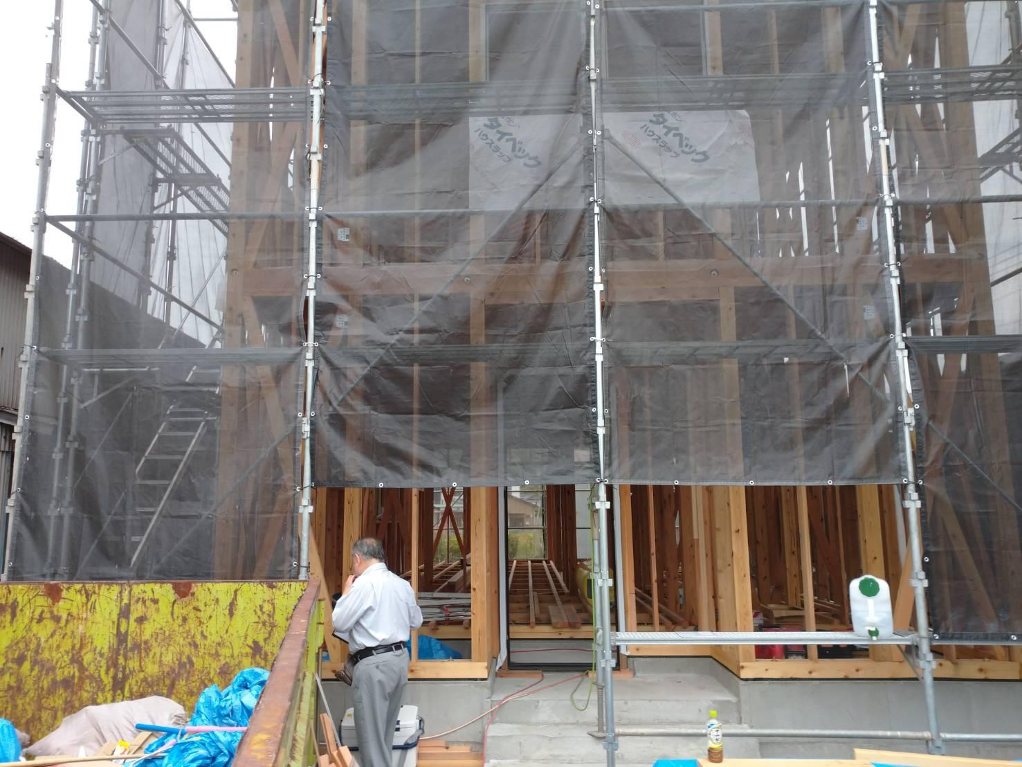 中間検査と白蟻防除工事